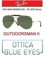 Occhiali da sole RAYBAN OUTDOORSMAN II Ray Ban rb 3029 181 62mm Sunglasses gold