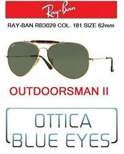 Occhiali da sole RAYBAN OUTDOORSMAN II Ray Ban rb 3029 181 62mm Sunglasses gold