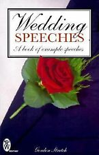 Wedding Speeches: A Book of Example Speeches