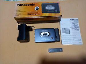Walkman Panasonic RQ-SX10 Dolby B, S-xbs Cargador, En Caja, FUNCIONANDO