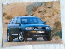 Audi allroad quattro 2.7T press photo Feb 2000 v2