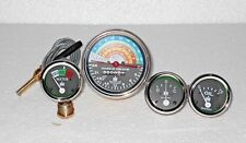 IH Farmall Tractor Gauge Set 300 350 Gas Utility Tachometer Temp Oil Ampere kit