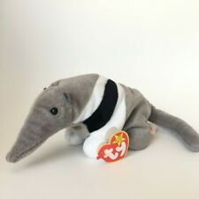 Ants the Anteater Ty Beanie Baby 1997 Error on Swing Tag, Excellent Condition
