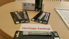 MONT BLANC - Two Fineliner Pen Refills Black Ink 107873 SEALED and NEW!!