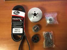 MACE 10 PSI BOOST PULLEY , 82 TSAT, MOD HUB, BELT HOLDEN L67 S/C 3.8L V6 AUS