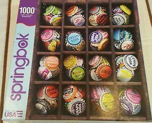 "Springbok Colorful Caps 1000 Piece Jigsaw Puzzle Large 24"" x 30"""