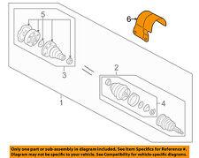 AUDI OEM 00-06 TT Quattro Drive Axles-Front-Shield 1J0407721C