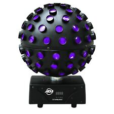 American DJ Starburst RGBWA + UV LED Mirror Ball Effect - DJ/Disco Lighting