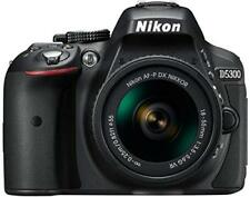 Nikon D D5300 24.2MP Fotocamera Reflex Digitale-Nero (Kit Con AF-S DX VR II 18-55mm