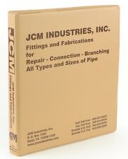JCM Industries Reference Binder Catalog Fittings Fabrications Pipe Industrial