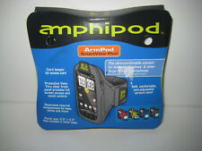 "Amphipod Armpod Smartview Black Flora design 4 iPod iPhone up to 4.5"" long"