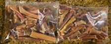 20 Pounds BULLY STEER STICKS THICK Ends & Piece Dog Treats USA Like True Chews