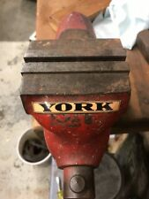 Vintage Benchtop Vise Vice York Sticker For Restoring Vice