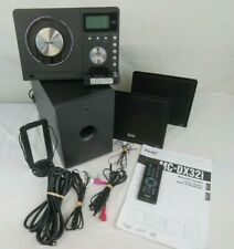 TEAC Micro Hi-Fi System MC-DX32i Stereo Unit W/ Speakers & Hookup Cables