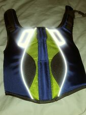 Kong Aqua Sport Dog Life Jacket Vest Floatation  XSmall 11-18 lb Dog Green Grey