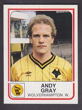 Panini - Football 84 - # 375 Andy Gray - Wolves
