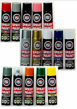 New Spray Paint Can Gloss Matt Varnish Primer Metallic DIY Multi-Purpose Aerosol