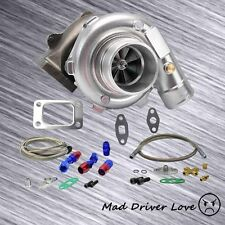 T3/T4 TO4E TURBO CHARGER .57 A/R +OIL FEED 8PSI +RETURN FOR HONDA YOTOYA NISSAN