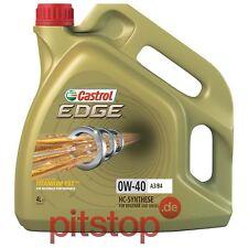 ORIGINAL CASTROL EDGE TITANIUM FST 0W-40 A3/B4 4L 4 Liter Motoröl Öl API SN/CF