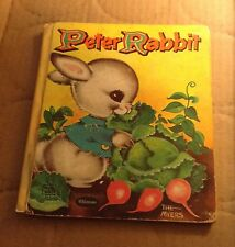 PETER RABBIT a classic with pictures by JACK AND LOUISE MYERS 1959 HC