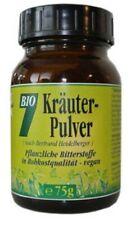 BIO Sieben Kräuter-Pulver 75g, Braunglas Heidelberger, Rohkost Gesund & Leben