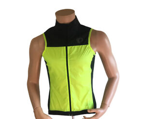 Pearl Izumi Men's P.R.O. Barrier Lite Cycling Vest Small Sleeveless Yellow PRO