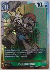 Digimon Card Game ver 1.0 BT2-049 Juego De Cartas Coleccionable Puppetmon arte alternativo