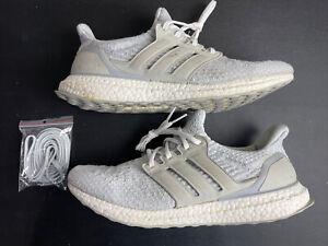 Adidas Ultraboost 3.0 Reigning Champ Grey White Size 11 BW1116