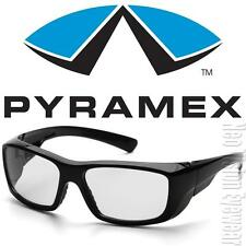 Pyramex Emerge Black 1.5 Clear Full Mag Reader Reading Safety Glasses Z87+