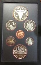 1982 Canada 7 coin proof year set