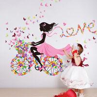 DIY Girl romantic Removable Wall Art Sticker Vinyl Decal Room Home Mural Decor