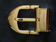 boucle de ceinture dorée Louis Vuitton vintage