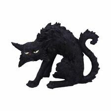 More details for new spite black cat witches familiar figure black cat gift statue 16cm