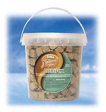 Supa Natural Tubifex Cubes Fish Food & Turtle Terrapin Food 1 Litre Tub