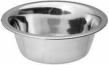 Standard Stainless Steel Dog Cat Bowl Indoor Outdoor Food Water Durable 3 Cup