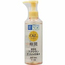ROHTO HADALABO Gokujyun Oil in Moist Lotion w/Squalan oil 220ml JAPAN