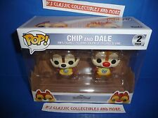 Chip & Dale POP Vinyl Figure 2 Pack #265/277 Funko - Disney Kingdom Hearts New!
