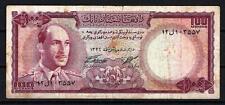 Afghanistan 1967 billet Very Fine de 100 afghanis pick 44