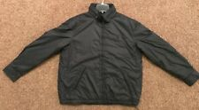 Polo Ralph Lauren Perry Black Windbreaker Hidden Hoodie Size L NWT MSRP $185