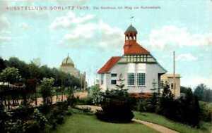 AK GRUß AUS GÖRLITZ NIEDERSCHLESISCHE GEWERBE + INDUSTRIE AUSSTELLUNG 1905 NR 27