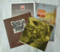 4x Vintage Rio Diecast model catalogues