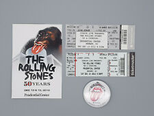 Rolling Stones two Original 50 Years Tour Tickets from Prudencial Center 2012
