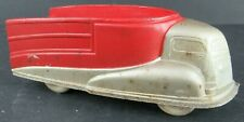 VINTAGE SUN RUBBER TOY TRUCK 1950's UNUSED OLD STORE STOCK