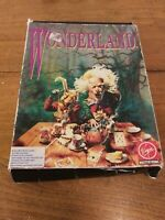 "Vintage Wonderland Virgin IBM 5.25"" Floppy Disk Computer Game Tandy Big Box"