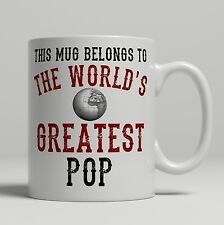 Pop World's Greatest best Birthday idea Christmas Gift present Tea Coffee Mug