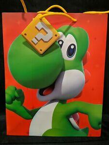 "Super Mario Nintendo Holiday Gift Paper bag 13"" x 10"""