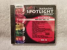 Sound Choice Karaoke Spotlight Series CD+G Pop/Rock - Pop Hits - Vol. 150 - 8805