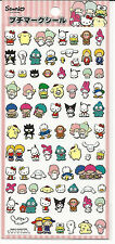 Sanrio Hello Kitty Melody Pochacco Kuromi Twin Stars Keroppi Purin Badtz Sticker