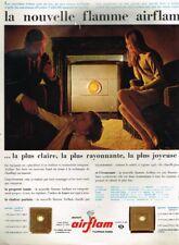 A- Publicité Advertising 1967 Le Chauffage calorifère Mazout Airflam