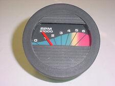 Teleflex Bateau Tachymètre Jauge ~Tachymètre ~ 6000 RPM ~ Gaz Moteur ~ I/O ~ à